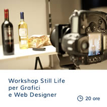 Workshop Still Life per Grafici e Web Designer