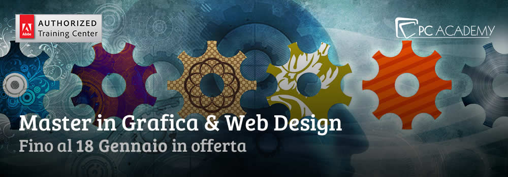 Master Grafica e Web Design in Offerta