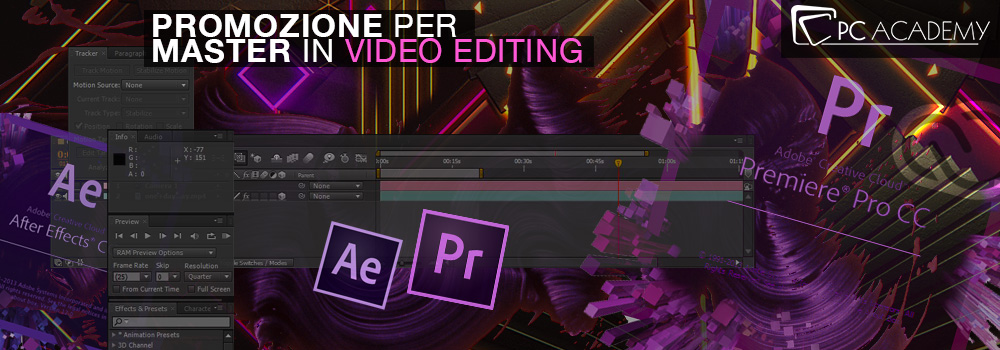 Master Video con software Adobe